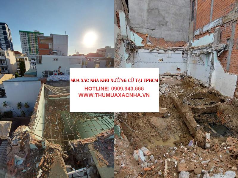 Quy trình thu mua xác nhà cũ Quận 11