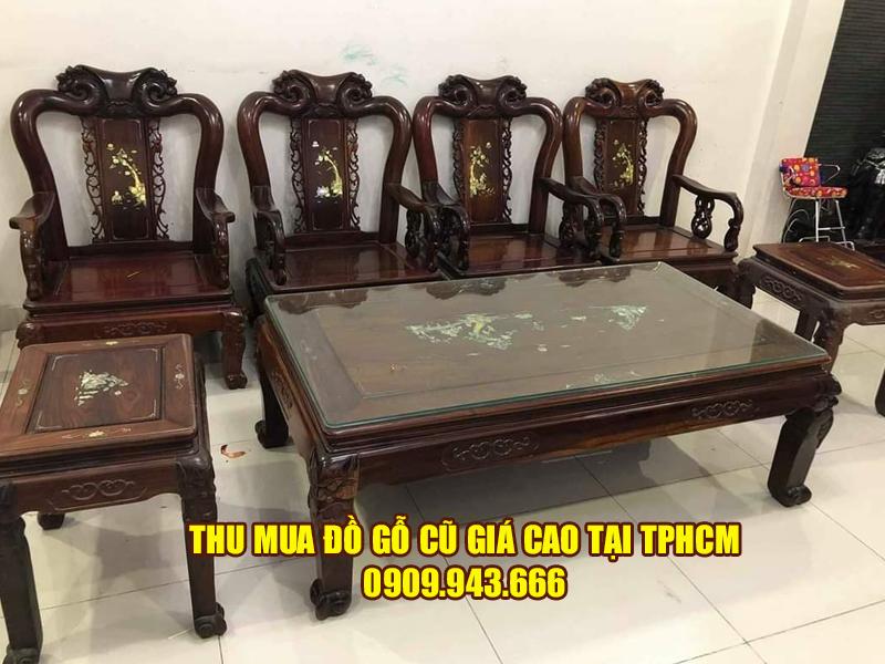 Quy trình làm việc của công ty Đình Duy khi thu mua đồ gỗ cũ
