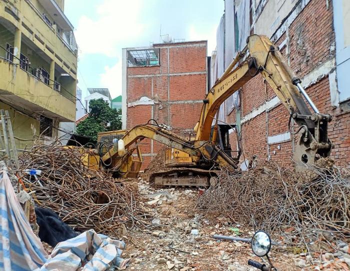 Tháo dỡ nhà với chi phí hợp lý