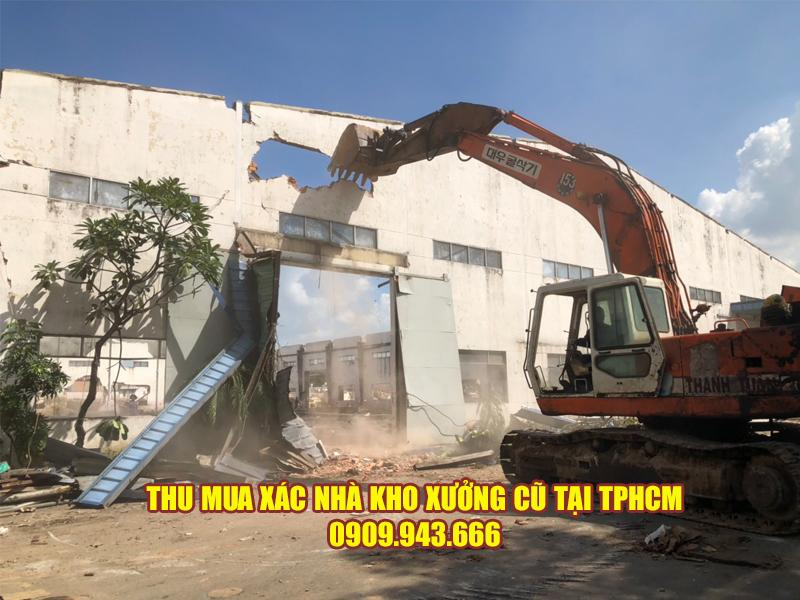 Nhận phá dỡ nhà một cách chuyên nghiệp