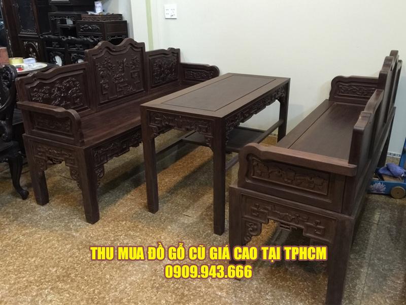 Các loại đồ gỗ mà Đình Duy thu mua tại Quận 9