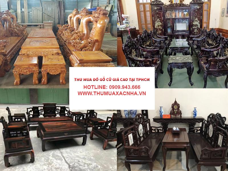 Đồ dùng, vật dụng, nội thất làm từ gỗ tự nhiên, gỗ quý