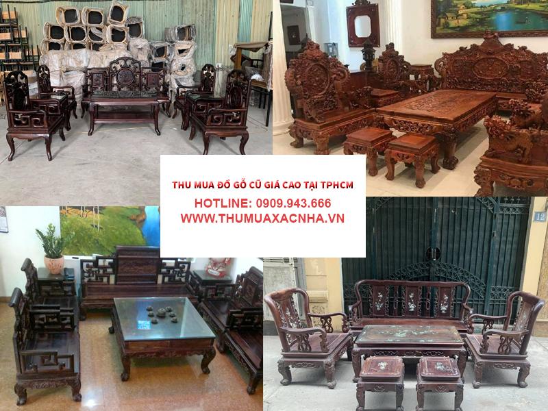 Thu mua đồ gỗ cũ tại Tôn Thất Thuyết Xóm Chiếu Tôn Đản Đoàn Văn Bơ Hoàng Diệu Ngô Văn Sở Nguyễn Tất Thành