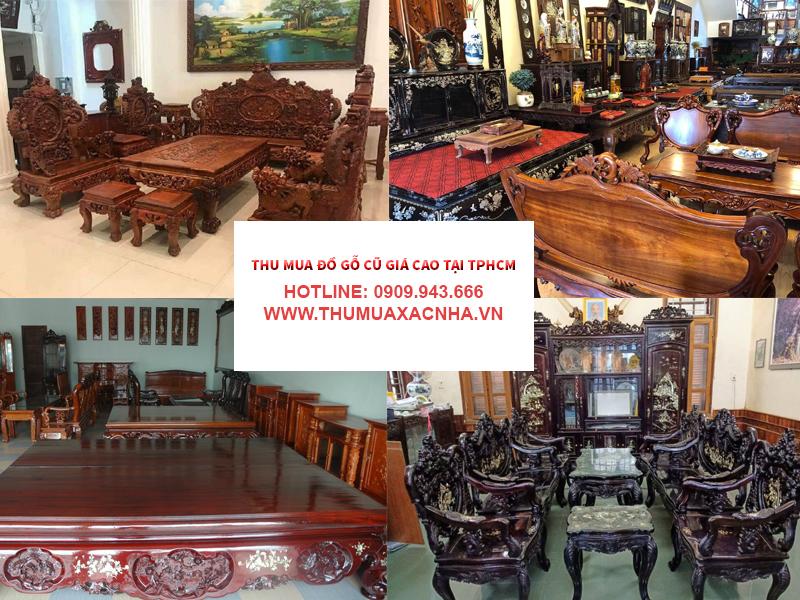 Bảng giá của dịch vụ thu mua đồ gỗ cũ tại Quận 5 của Đình Duy