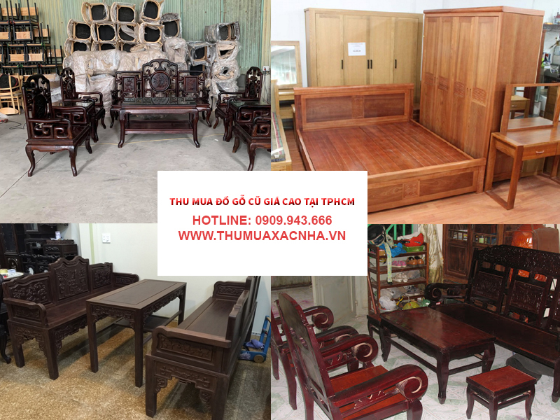 Danh mục sản phẩm đồ gỗ cũ được Đình Duy thu mua