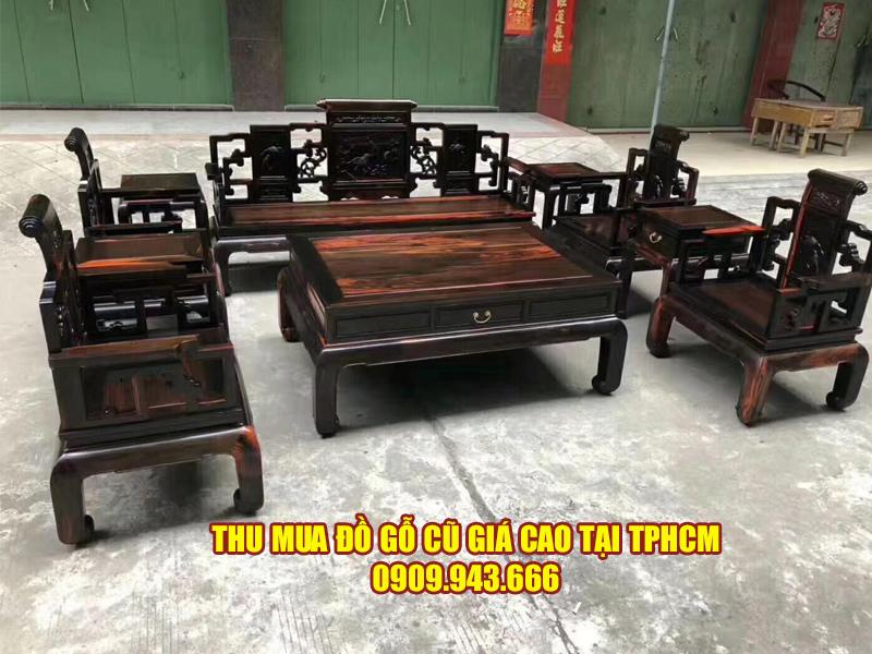 Quy trình thu mua đồ gỗ cũ tại Quận 5 của Đình Duy