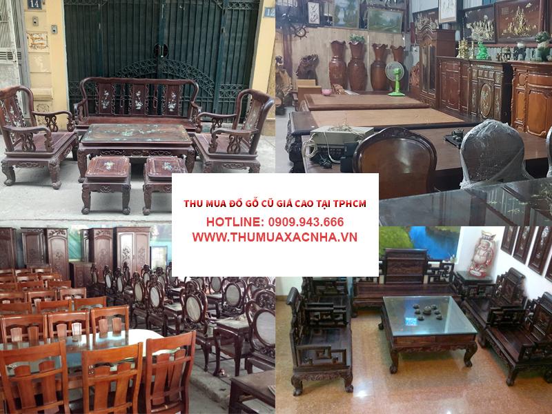 Lý do bạn nên chọn dịch vụ thu mua đồ gỗ tại Quận 6 của Đình Duy