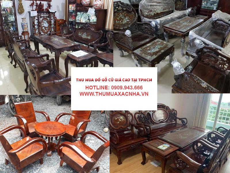 Địa chỉ chuyên thu mua đồ gỗ cũ giá cao tại Quận 3