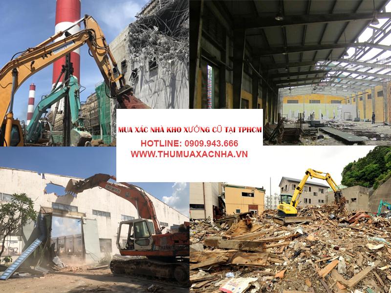 Quy trình thu mua xác nhà cũ tại công ty Đình Duy